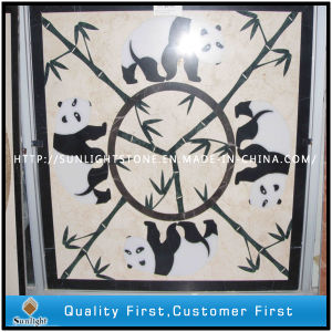 Black/White/Green/Brown/Beige Marble Water Jet Medallion pictures & photos