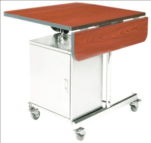 Hotel Products High Quality Red Food Heater Trolley (TSRC-55) pictures & photos