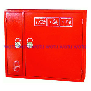 Double Door Fire Cabinet for Fire Extinguisher and Hose Reel pictures & photos