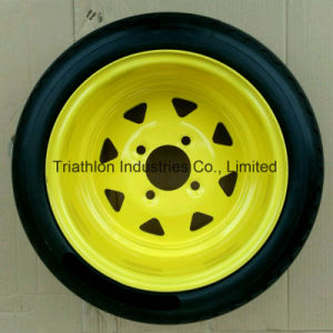3.50/3.25-8 4.80/4.00-8 6.50-8 8.50-8 USA PU Foam Flat Free Tire pictures & photos