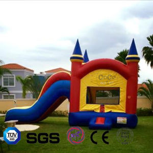 Home-Used Inflatable Mini Nylon Bouncey-Castle with Slide for Kids LG9094