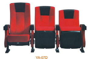 Metal Folding Commercial Luxury Theater Seat Theater Chair (YA-07D) pictures & photos