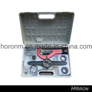 Pph Water Pipe Fitting-Tools Set -Holder-Cutter (1/2′′-1′′) pictures & photos