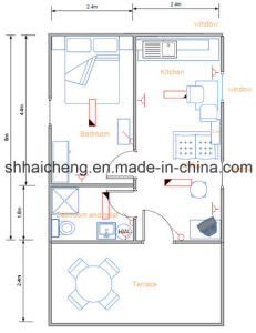 Prefabricated/Container/Standard/Family Use House (shs-mh-family006) pictures & photos