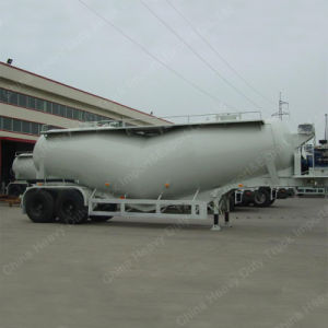 Two Axles Dry Bulk Cement Tanker Trailer with Air Compressor pictures & photos