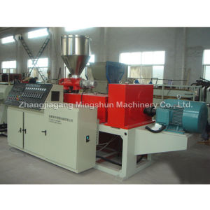 Conical Double Screw Extruder (MSZ)