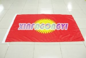 Heat Transfer Printing Fabric Banner/Backdrop Banner pictures & photos