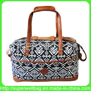 Allover Printing Canvas Bag Fashion Baa Retro Bag for Travel