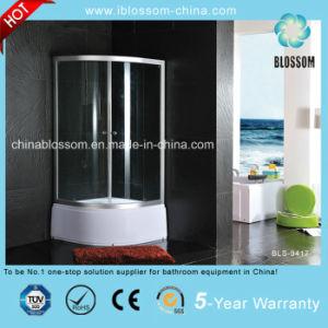 Sliding Door 5mm Transparent Glass Shower Enclosure (BLS-9417) pictures & photos