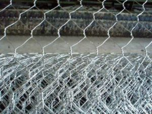 "PVC-Coated Hexagonal Wire Mesh 1/2"" to 2"" for Fencing pictures & photos"