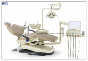 Luxury Leather Dental Chair Unit with Taiwan Imported Motor