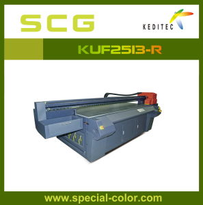 Alpha Multi-Color Flatbed UV Panel Printer for Fabric Kuf2030-S pictures & photos