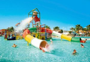 Fiberglass Straight Water Slide pictures & photos
