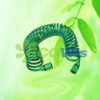 EVA Coil Spire Garden Hose with Spray Gun Set (HT1061-1) pictures & photos