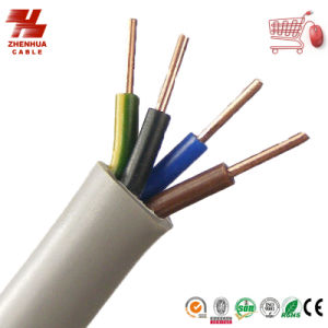 BVV PVC Insulated Sheathed Round Flexible Copper Wire pictures & photos