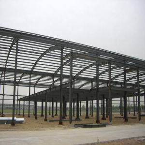 Steel Structure Warehouse for Cement Brick pictures & photos