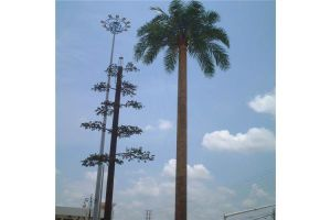 Sangao Company Antenna Telecommunication Mast Camouflaged Tree