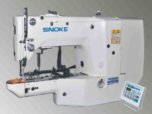 Electronic Lockstitch Button Holing Sewing Machine (SNK1903)