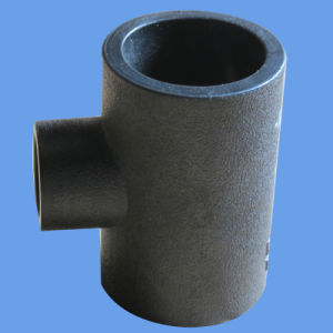 Long Spigot Butt Welding HDPE Reducing Tee for Water Supply, Irrigation and Drainage pictures & photos
