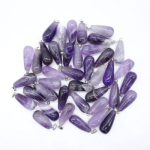 Wholesale Natural Amethyst Nugget Stone Pendant pictures & photos