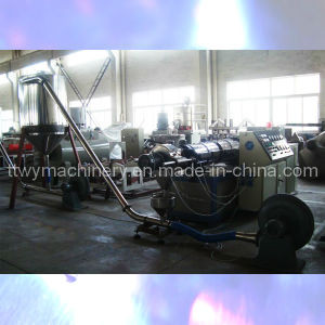 PVC Pelletizing Machine Granule Production Line pictures & photos
