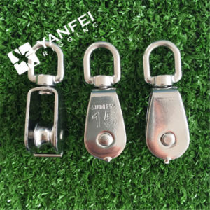 15-100mm Stainless Steel Wire Rope Pulley Block pictures & photos