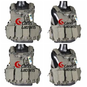 Tactical Nylon Army Soldier Defensive Molle Military Combat Vest Cl4-0021 pictures & photos