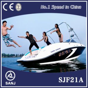 Sanj Sport Boat with Twin Engine
