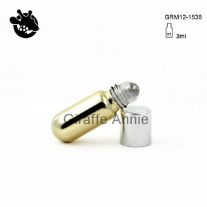 3ml Roll on Glass Bottle with Stainless Steel Ball