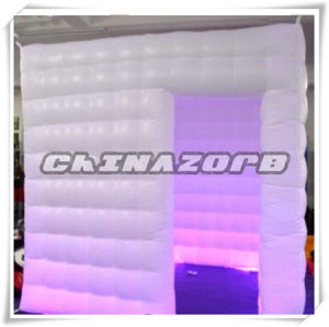 Changeable LED Lights Inflatable Photo Booth Tent for Trade Show