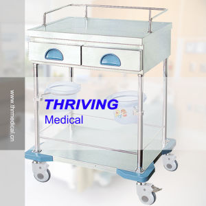 Hospital Treatment Cart (THR-ZY101-II) pictures & photos