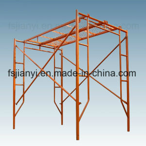 Powder Coated Steel Pin Lock H Frame Scaffolding pictures & photos