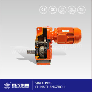 High Efficency F Series Hollow Parallel Shaft Gearbox Made in China