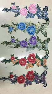 Hot Sell Fashion Women Garment Accessories Embroidery Flower Ym-41 pictures & photos