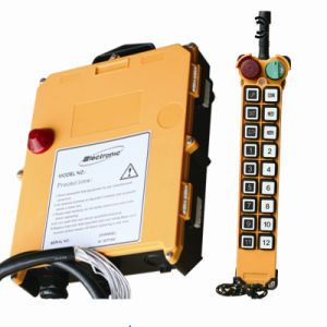 Industrial Concrete Pump Truck Radio Remote Controller for Crane (F21-18D) pictures & photos