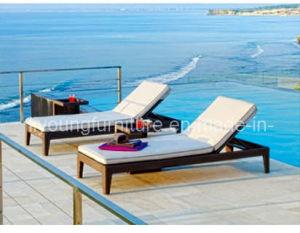 Outdoor Wicker Folded Sun Lounge (LG12-1205)