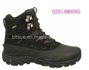 Waterproof TPU Shell Upper in a Cold Weather Hiking Boot Shoes pictures & photos