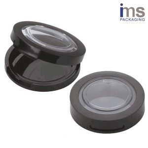 Round Plastic Powder Compact Case pictures & photos