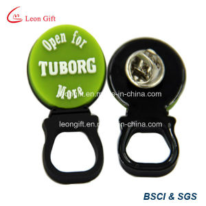 Tuborg Design Soft Rubber Lapel Pin Holder Custom pictures & photos