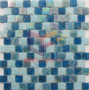 Dark and Light Blue Mixed Swimming Pool Mosaic (CSJ148) pictures & photos