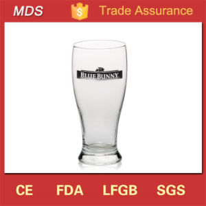 Personalized Durable Custom Logo Glass Pilsner Glass Wholesale pictures & photos
