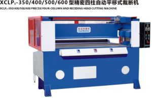 EVA Carpet Automatic Cutting Machine with Feeding Table pictures & photos
