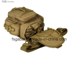 Anti Theft Outdoor Military Camouflage Tactical Sports Fishing Waist Leg Bag pictures & photos