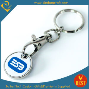 OEM Custom Shopping Trolley Coin Lock pictures & photos