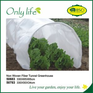 Onlylife BSCI PVC/PE/Net Garden Grow Tunnel Mini Greenhouse pictures & photos