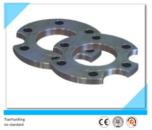 Non-Standard Forging Special Carbon Steel A105 Flange with Groove pictures & photos