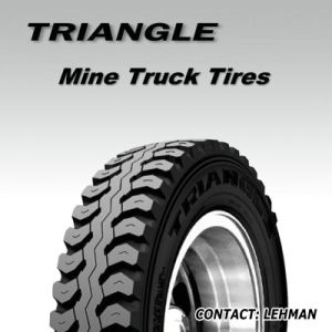Triangle Mine Mining 13r22.5 Heavy Duty Wide Open Shoulder Truck Tyres Tr669 pictures & photos
