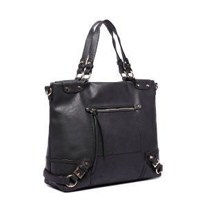 Ladies Genuine Leather Hand Bag Fashion Tote Bag Designer Handbags pictures & photos