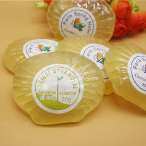 9g, 12g, 15g, 20g, 25g, 30g Transparent Soap // Hotel Soap // Cheap Hotel Soap // Flow Packed Soap // Hotel Soap 6 pictures & photos