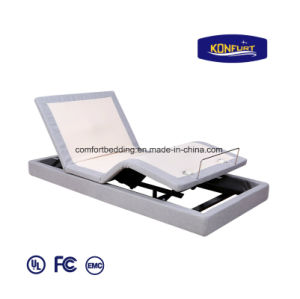 Science Sleep Homecare Furniture Adjustable Remote Contorl Hospital Massage LED Lighting Furniture Bed pictures & photos